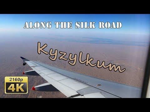 Flight from Tashkent to Khiva - Uzbekistan 4K Travel Channel
