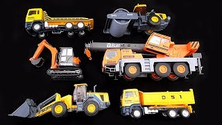 "😀Go Grow Fun😀 EP34 ""Learning Construction Vehicles Names & Sounds"""