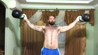 Денис Пахомов.  Крест за дужки 16 кг
