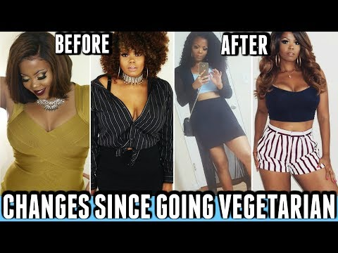 WHAT HAPPENS WHEN YOU STOP EATING MEAT? CHANGES SINCE BECOMING VEGETARIAN|ACNE WEIGHT LOSS|TASTEPINK