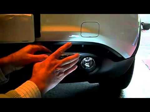 Nissan Juke - Mounting the DRL Light Units