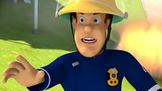 Fireman Sam US  🚒Emergency Rescue | Fire On The Football Pitch 🔥 Kids Movies