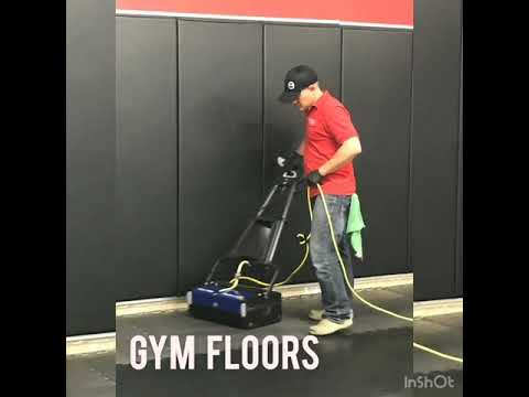 Gym mats cleaning
