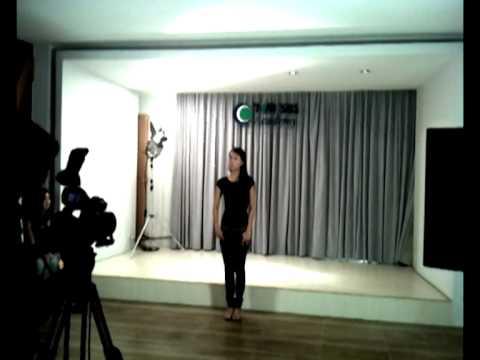 """HTV3- Buoi casting bo phim """"Ca Go, em yeu anh !"""""""