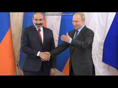 Сенсация =Глава Армении Никол  Пашинян  разоблачил двойника Путина  28 ноября  2019  ...в Бишкеке !