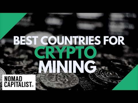 Best Countries for Crypto Mining