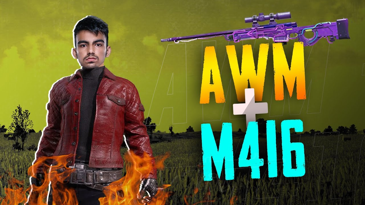 AWM + M416 BEST WEAPON COMBO | PUBG MOBILE SCRIMS | GiLL 🇮🇳