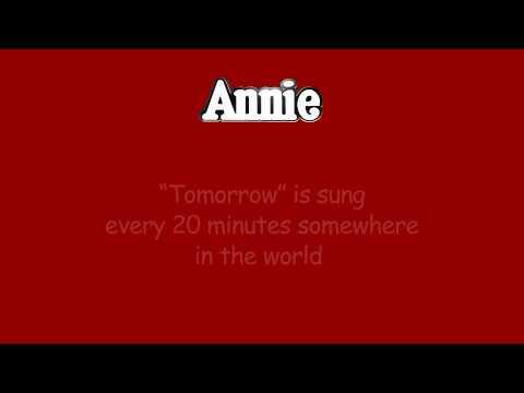 Annie FUN FACTS