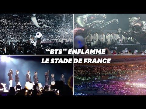 BTS, Au Stade De France, Livre Un Show Monumental