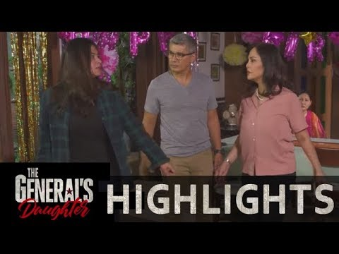 Rhian's parents stop her from confronting Tiago | The General's Daughter