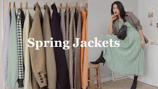 봄에 입기 좋은 자켓 7가지 오버사이즈 #봄자켓 #꾸안…