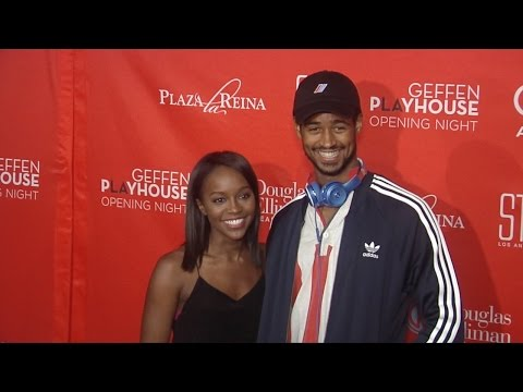 "Aja Naomi King & Alfred Enoch ""Barbecue"" West Coast Premiere Red Carpet"