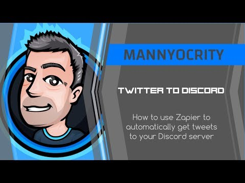 Twitter Tweets To Discord Channel