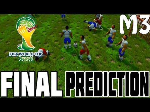 World Cup Final 2014: Germany v Argentina Prediction! (Funny Simulator Parody)