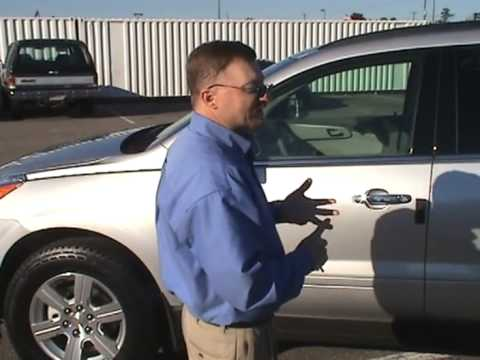 Daniel Henderson Of Heritage Chevrolet In Chester, Virginia, Shows The  All New Chevy Traverse