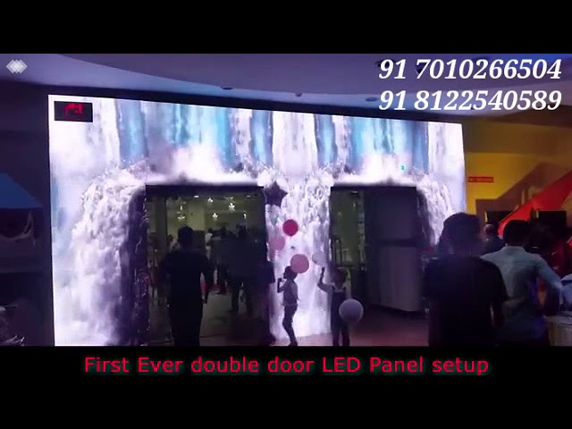 LED Wall Arch Entry Birthday Event Stage Entrance Decoration India 91 81225 40589 (WA)
