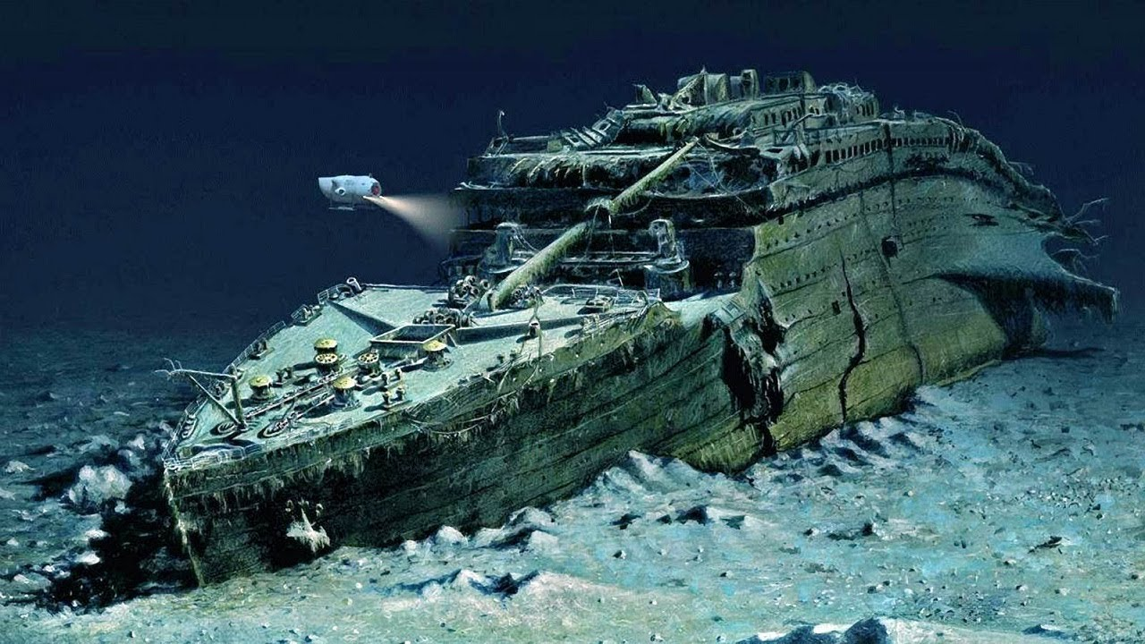 Download Why can't the Titanic be recovered from the bottom of the ocean