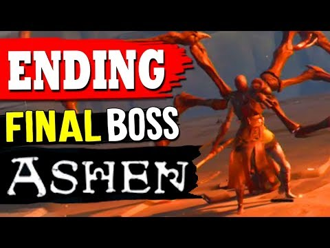 ASHEN: ENDING - Final Boss Battle Defeat SISSNA Quest The Awakening thumbnail