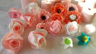 Новые силиконовые формы для мыла. Цветы. New silicone molds for soap.Flowers