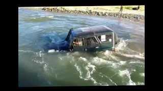 Непотопляемый УАЗ ХАНТЕР и брод 2 метра!