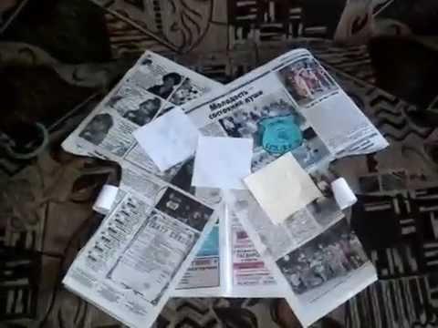 Делаем костюм из газеты, кофточка из бумаги своими руками.