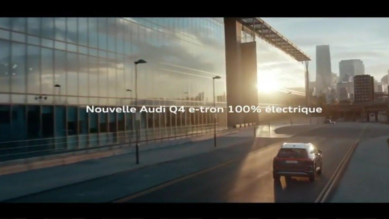 """Musique de la pub nouvelle Audi Q4 e-tron 100% électrique """"le futur nous anime""""  2021"""
