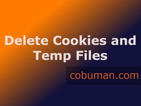 HOW TO Delete Cookies and Temp Files in IE11   INTERNET SECURITY