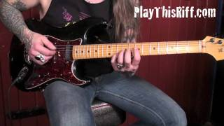 WINO Guitar Lesson for PlayThisRiff.com Follow us on Facebook https...