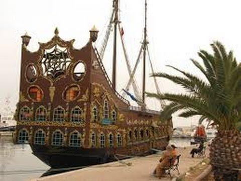 Bateau pirate sousse tunisie youtube - Image bateau pirate ...