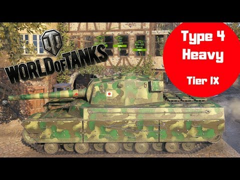 Type 4 Heavy tank review  World of Tanks