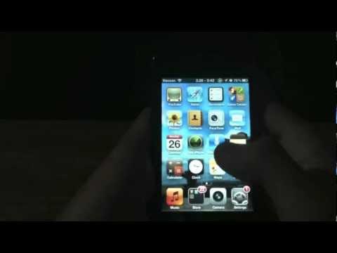 Como calibrar el home del Iphone, Ipad, Ipod touch