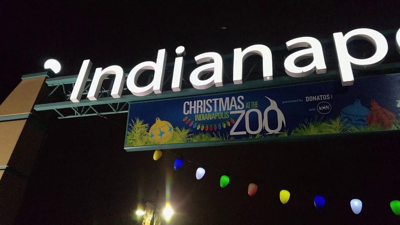 Christmas Train Ride Indianapolis Zoo
