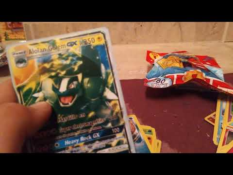 Apertura de cartas de pokemon y super zing
