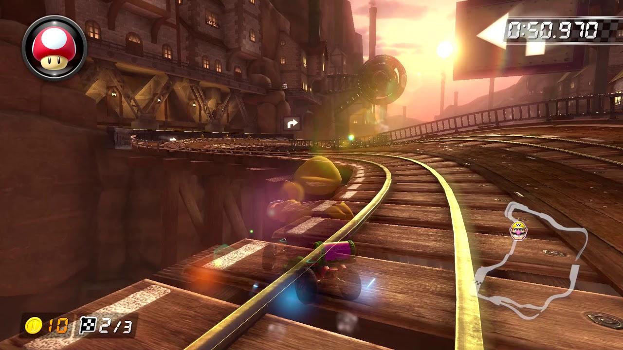 Wii Wario S Gold Mine 150cc 2 02 988 Hd Mario Kart 8