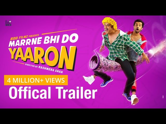 Marrne Bhi Do Yaaron |Official Trailer|Krushna|Rishaab Chauhaan|Kashmera Shah|