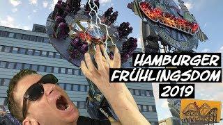 Hamburger Frühlingsdom 2019 | Funfair Blog #180 [HD]