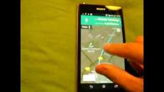 sony xperia z1 mapy google prezentacja nawigacji gps glonass android 4 3