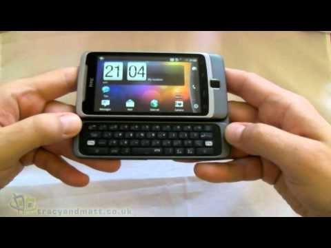 HTC Desire Z unboxing video