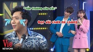 Trấn Thành tổn thương sâu sắc khi Hari Won lơ đẹp mình sáp lại oppa Park Jung Min | Giọng Ca Bí Ẩn
