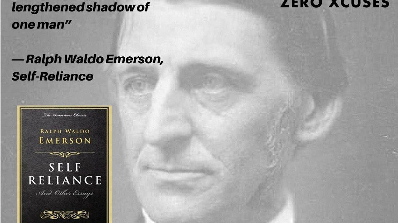 "an overview of ralph waldo emersons self reliance concept of the over soul (contains ""self-reliance,"" ""the over-soul own use of the concept ""to talk of reliance of ralph waldo emerson, ed ralph l rusk and."