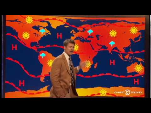 Brad Pitt gives an excellent summary of the impacts of climate change.