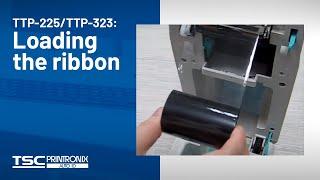 TSC TTP-225/323: Loading the ribbon(Loading the ribbon for TTP-225 series., 2012-11-13T03:21:05.000Z)