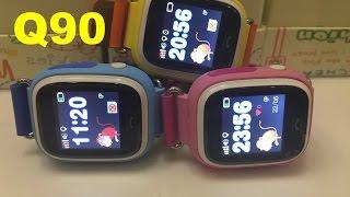 Дитячі годинники телефон з GPS Q90 Новинка 2016