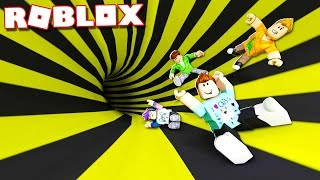 Roblox Adventures - SLIDE DOWN THE PIPE TO THE WINNERS! (Roblox Dangerous Pipe Slide)