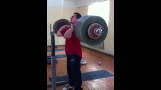 230kg/506lbs Raw Front Squat @94kg BW- No belt