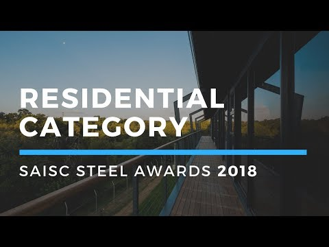 Residential Category - Steel Awards 2018