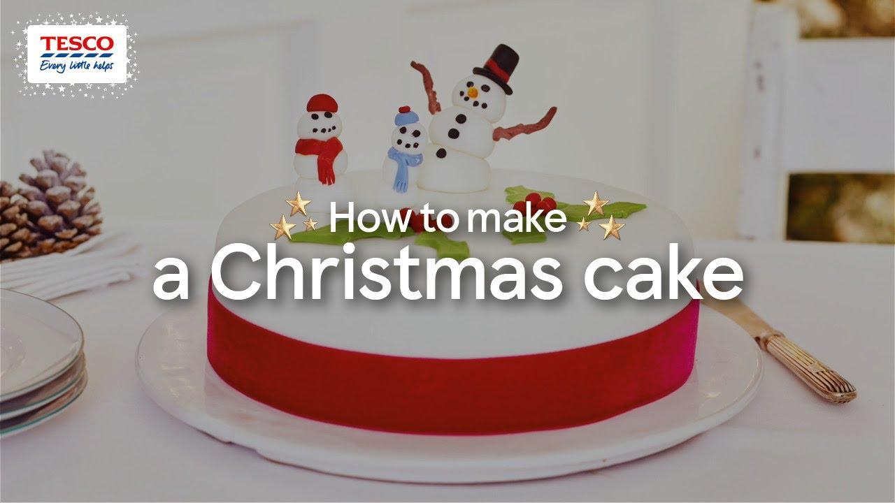Tesco christmas cake recipe