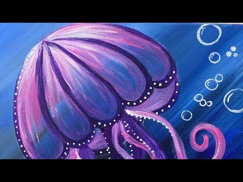 Jellyfish Full Painting Tutorial