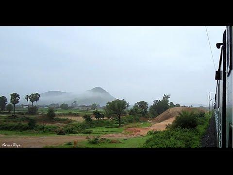 WAP-4 Durgiana Express-scenic Chhota Nagpur Plateau- Aug