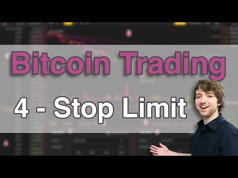 Bitcoin Trading Tutorial 4 - Stop Limit Explained